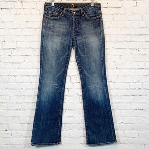 7 for all Mankind Bootcut Jeans Button Fly